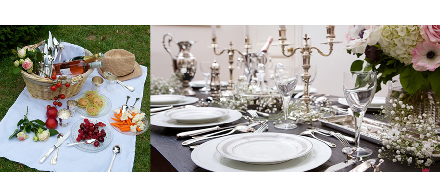 Argenterie d 39 antan raffinement et art de la table la for Art de la table de luxe