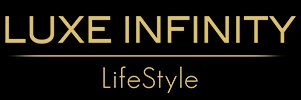 Luxe Infinity Magazine lifestyle luxe voyages joaillerie gastronomie logo