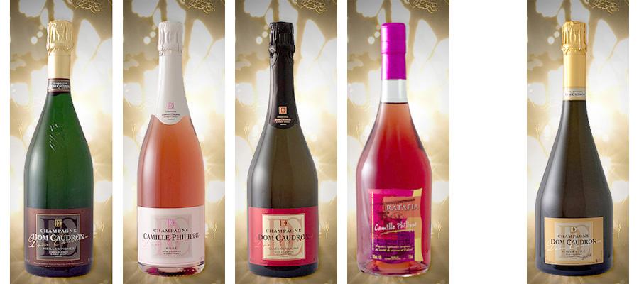 Dom Caudron, un champagne d'exception