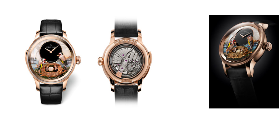Jaquet Droz présente The Bird Repeater Geneva 2