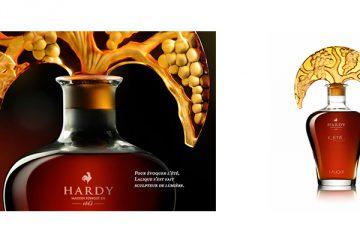 """Hardy et Lalique : La carafe """"L'été"""""""