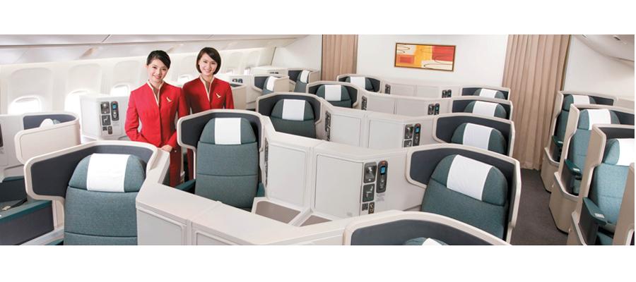 Vol Paris – Hong Kong : l'offre Business de Cathay Pacific 1