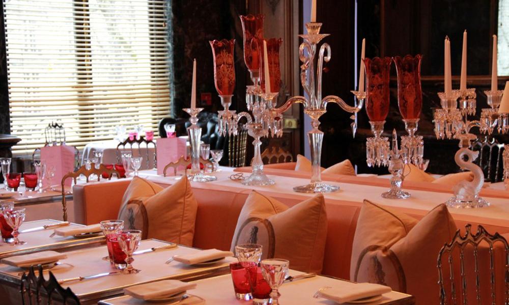 Cristal Room Baccarat Elégance, glamour et romantisme 2
