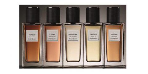 YVES SAINT LAURENT lance son vestiaire de parfums