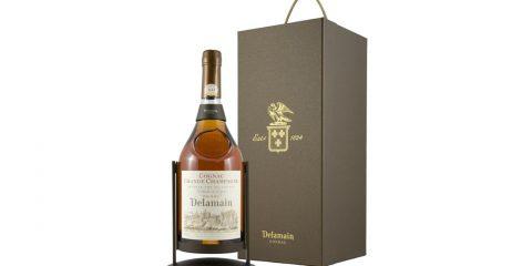 Le nouveau berceau verseur Fontaine pour double-magnum de Cognac DELAMAIN Pale & Dry XO