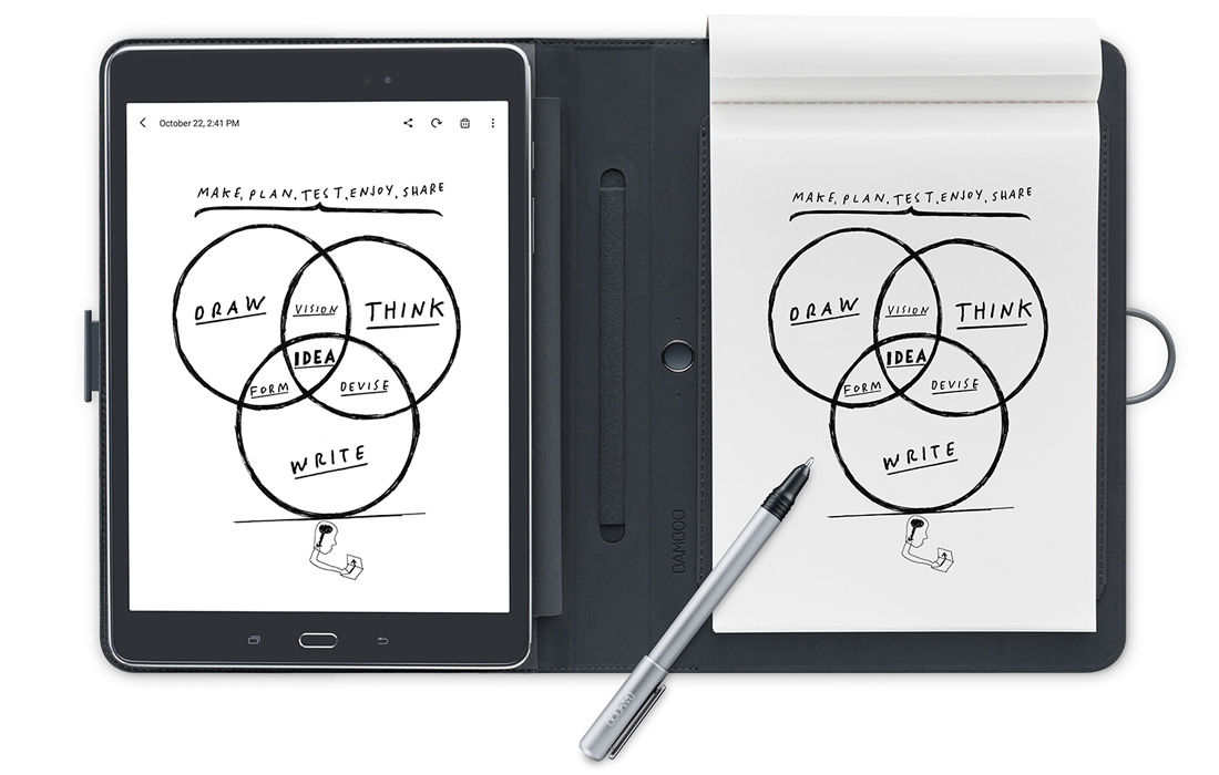 Bamboo Spark : Transformez vos notes manuscrites en texte dynamique 3