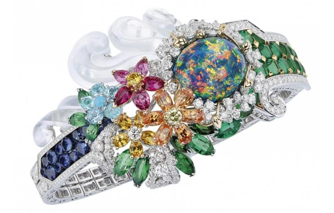 Joaillerie: la marque Dior puise son inspiration sur les jardins du château de Versailles