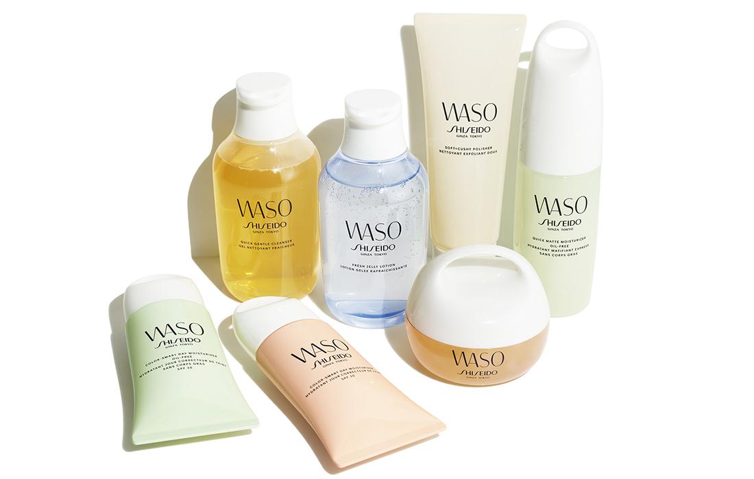 Une nouvelle gamme de soins Shiseido, spécialement pour les millennials: «Waso»