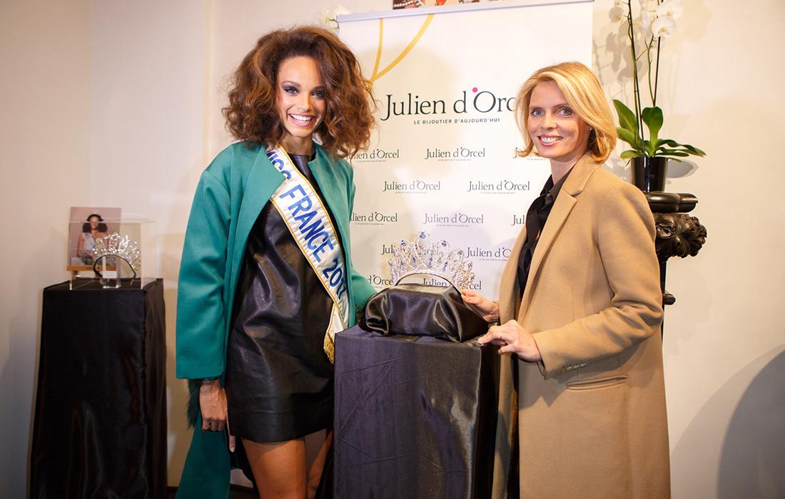 Julien d'Orcel et Miss France: un partenariat d'exception