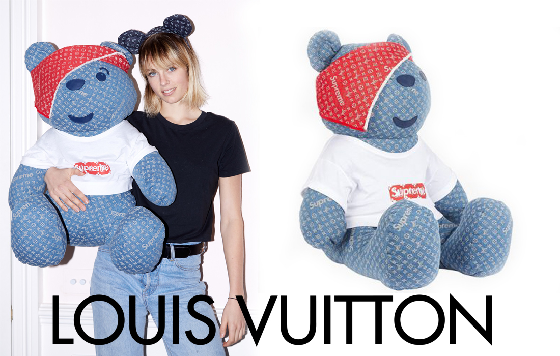 « Louis Vuitton x Supreme Pudsey Bear » : une peluche unique dans le but d'aider BBC Children in Need