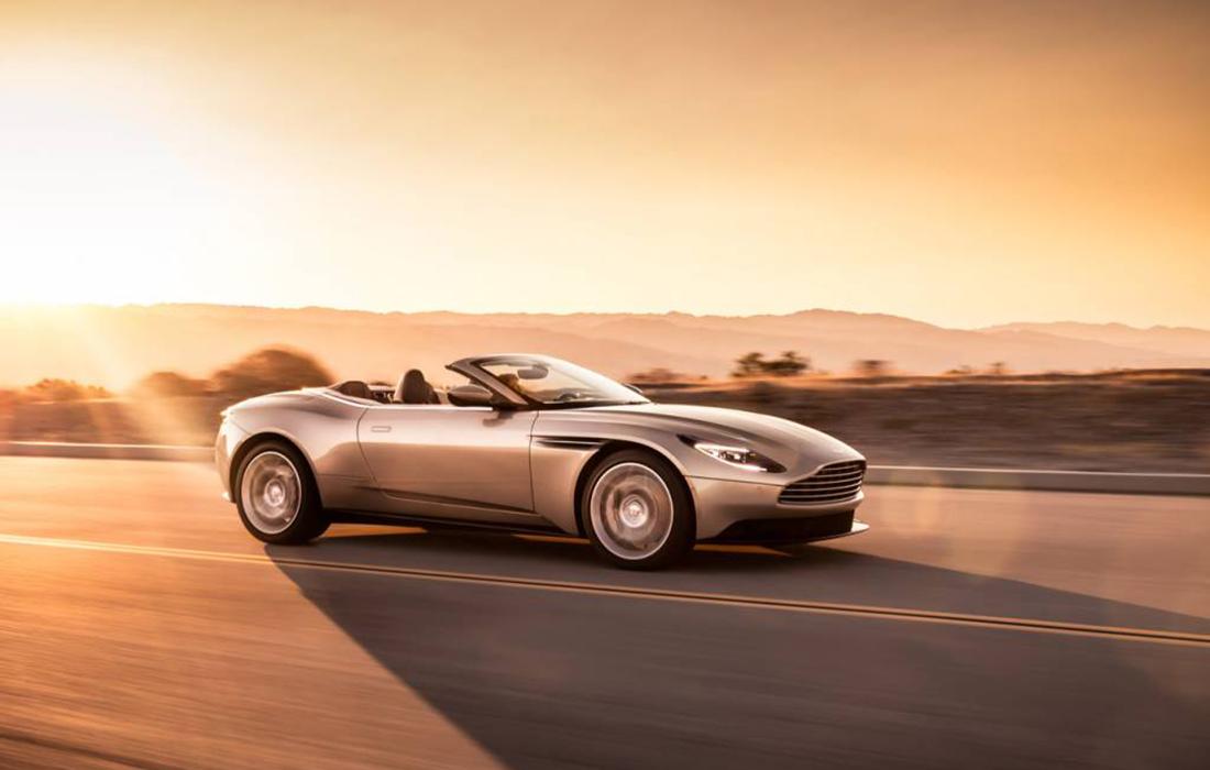 La dernière évolution du cabriolet GT Sport avec Aston Martin DB 11 Volante