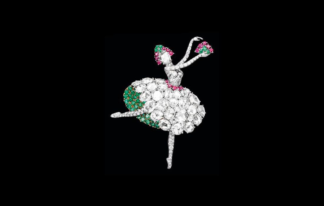 Van Cleef & Arpels: une exposition «Précieuses Ballerines» dans sa boutique place Vendôme