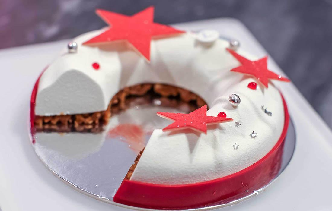 Les chefs pâtissiers dévoilent leurs bûches de Noël 2017!