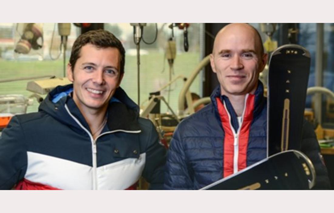 Une paire de skis de luxe commercialisée pour une action caritative