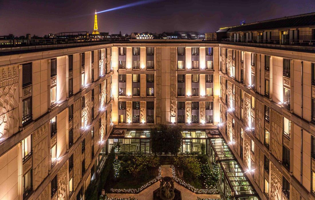 L'hôtel du Collectionneur: Une Saint-Valentin d'exception