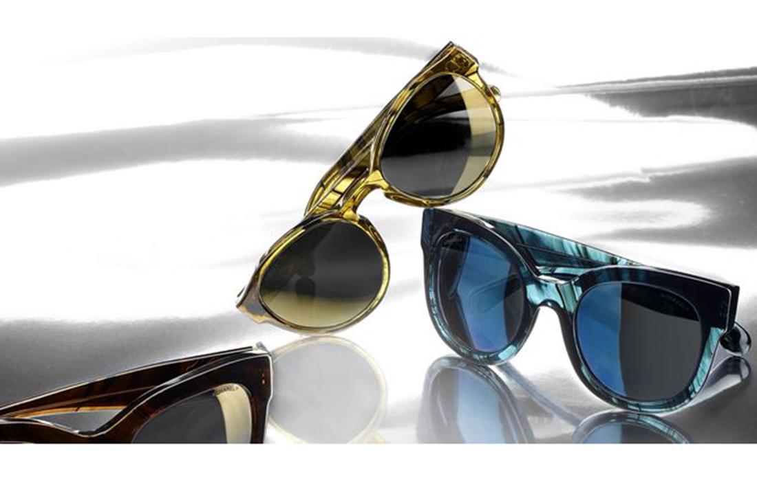 e9c02232c94a4 Chanel dévoile une collection de lunettes au design futuristes et rétro