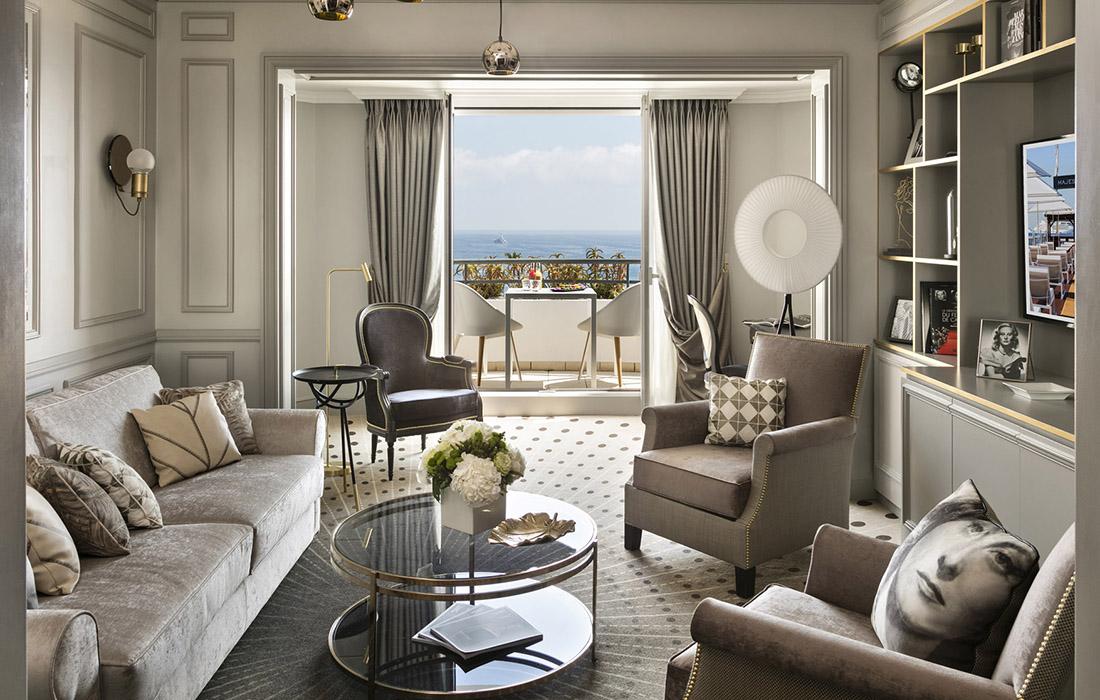 Hôtel Barrière «Le Majestic» La nouvelle Suite Michèle Morgan