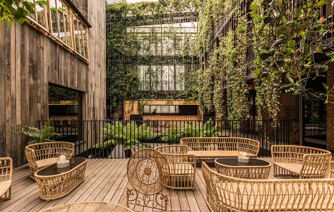Un hôtel de luxe d'exception mettant la nature à l'honneur: The Mandrake Hotel à Londres