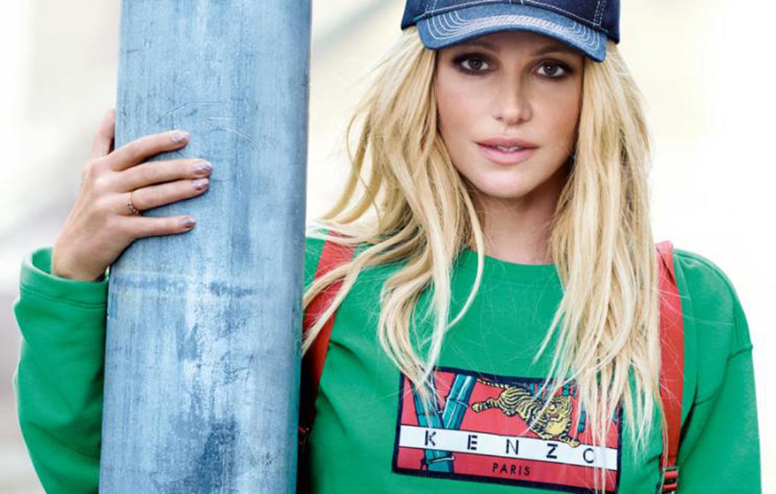 La maison française Kenzo a choisi Britney Spears comme nouvelle égérie