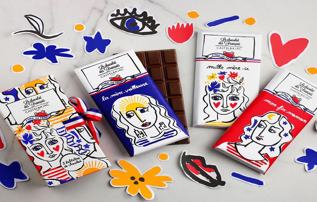 Castelbajac Paris lance sa première collection de chocolat avec Le chocolat des Français pour la Fête des mères