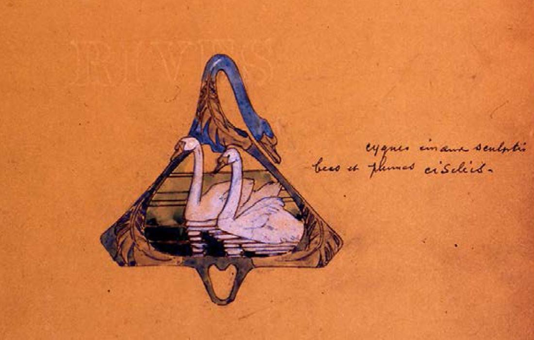 Lalique: Collection joaillière «Cygnes»