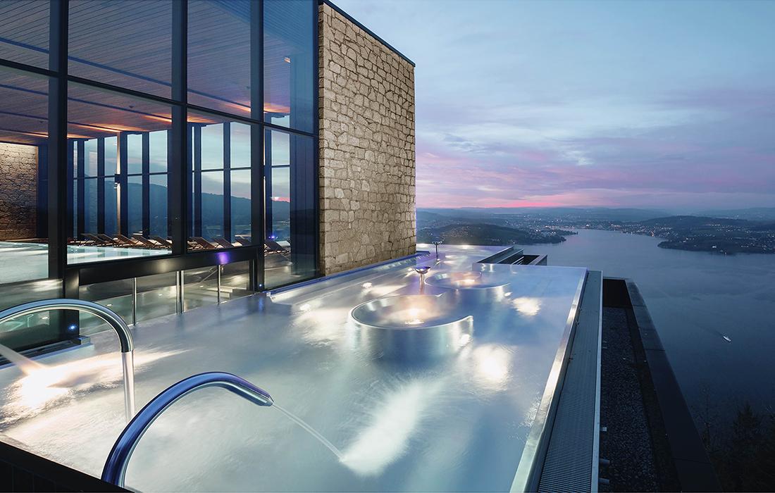 Le resort de luxe le plus démesuré du continent européen est installé en Suisse