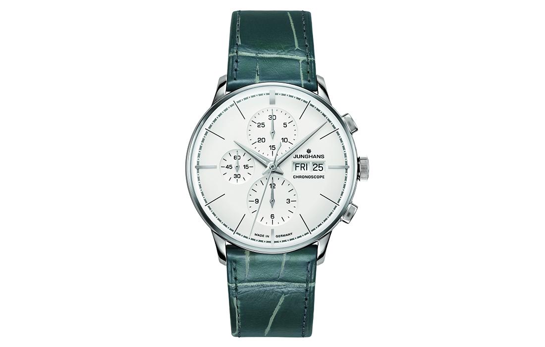 Une montre Junghans pour le centenaire du bâtiment en terrasses de Schramberg
