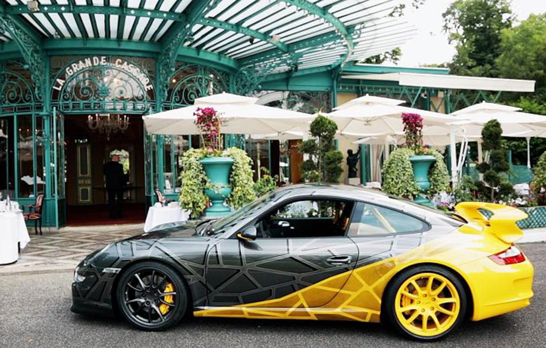 La #Porsche 911 réinventée par le sculpteur Richard Orlinski