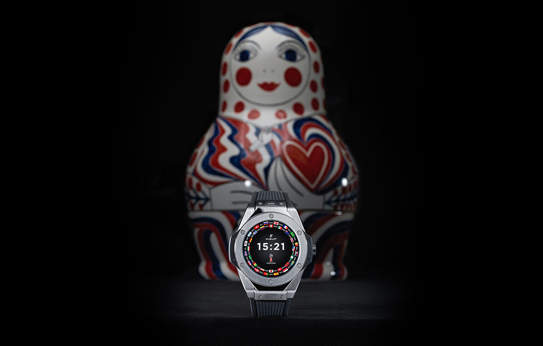 Suivez la Coupe du Monde en temps réel où que vous soyez grâce à la montre connectée