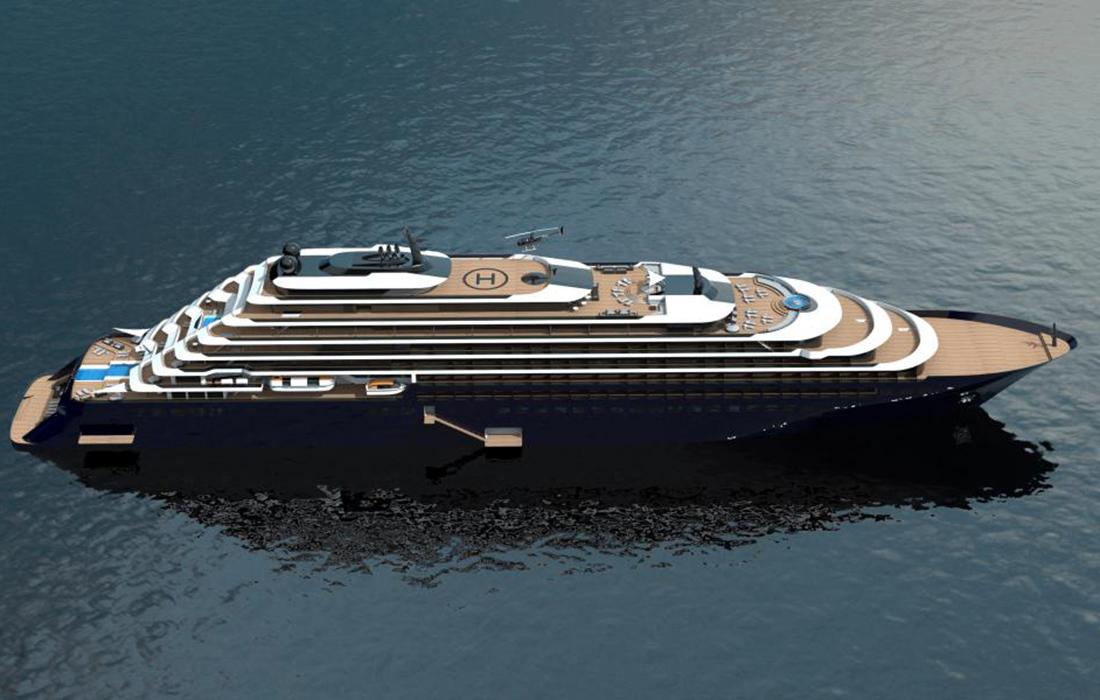 Les #yachts de luxe du groupe hôtelier Ritz-Carlton bientôt en mer pour ses premiers voyages d'ici 2020