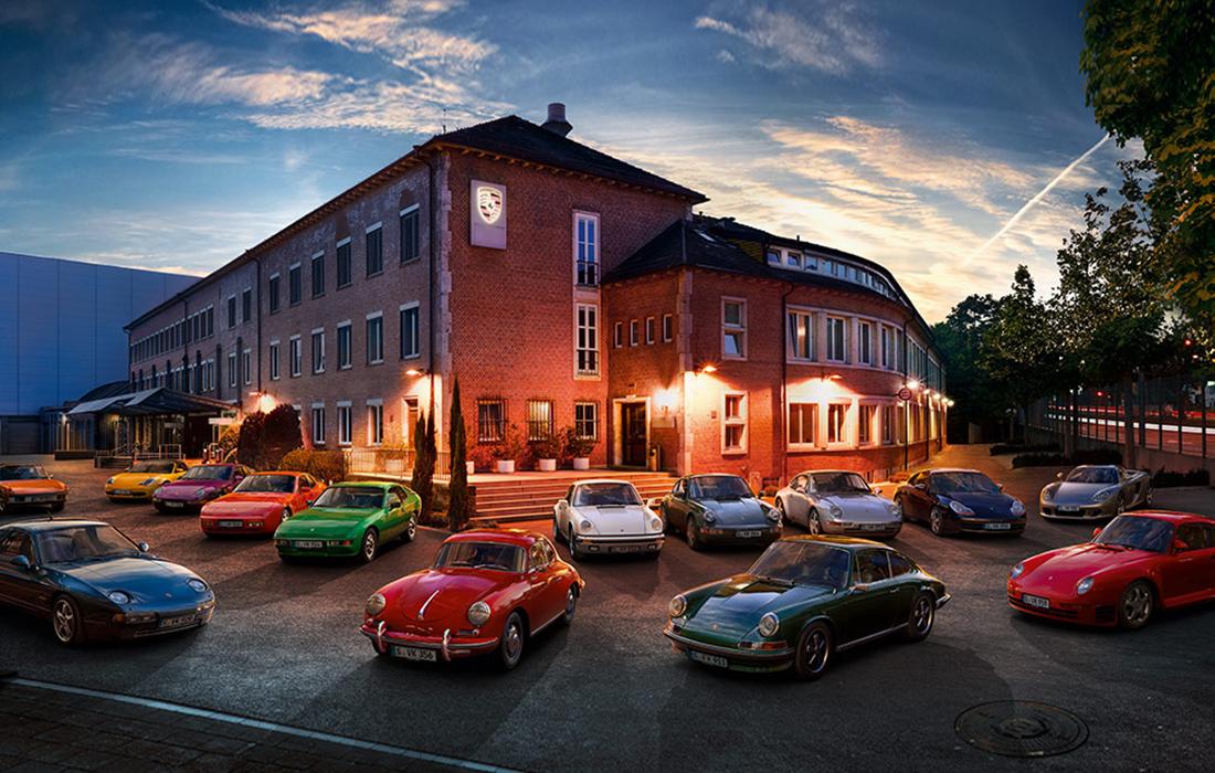 La Fédération des Clubs Porsche de Francemise sur le Mans Classic pour célébrer les 70 ans de la marque