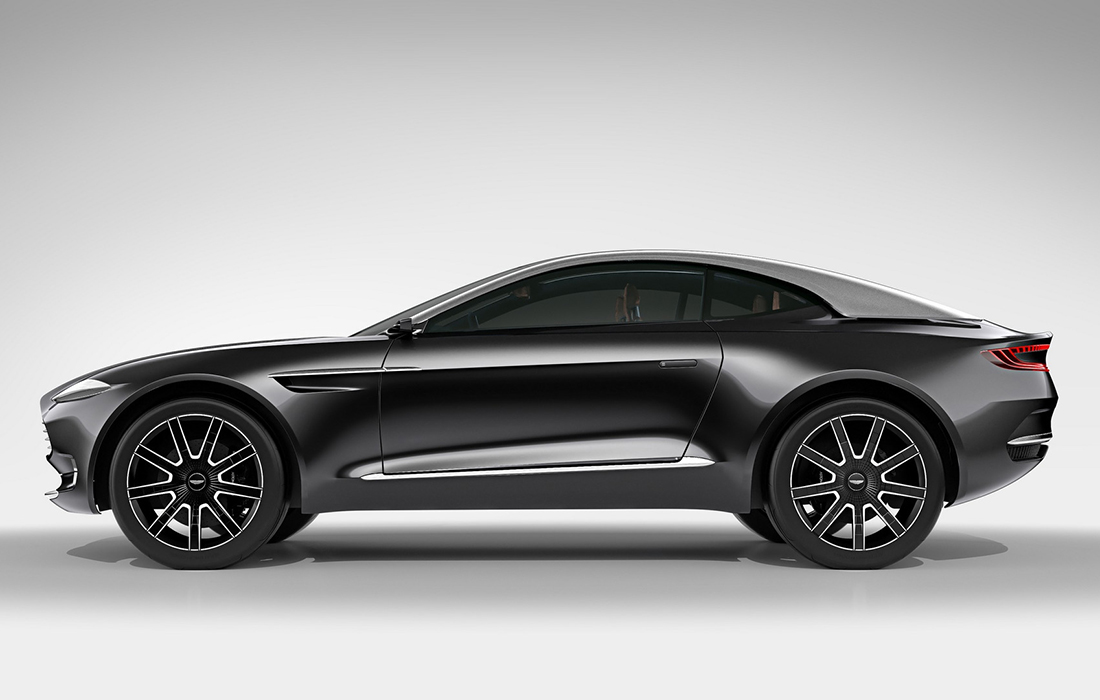 Aston Martin dévoile son tout premier SUV: Varekai