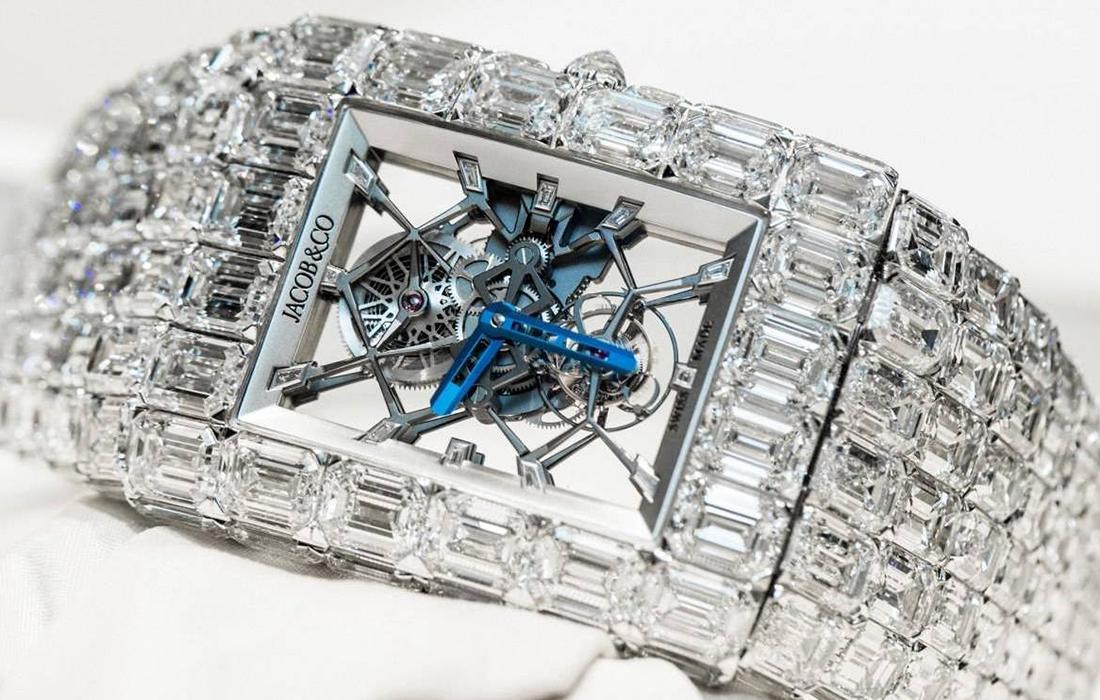 Le sportif Floyd Mayweather s'est offert une montre Jacob & Co de 18 millions de dollars