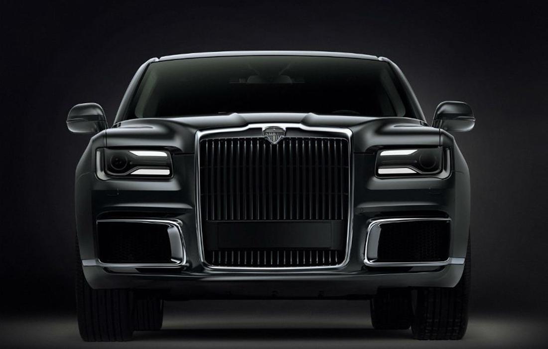 Un lancement officiel de la marque de voitures de luxe Russe