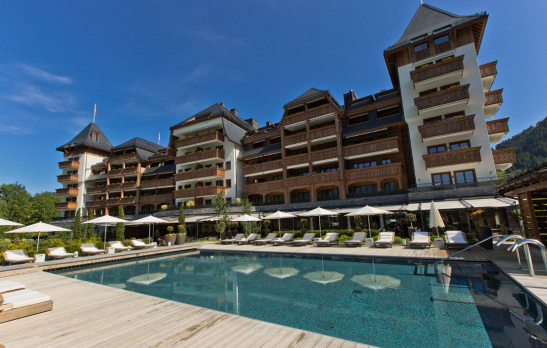 Un séjour de luxe au sein du prestigieux hôtel The Alpina Gstaad