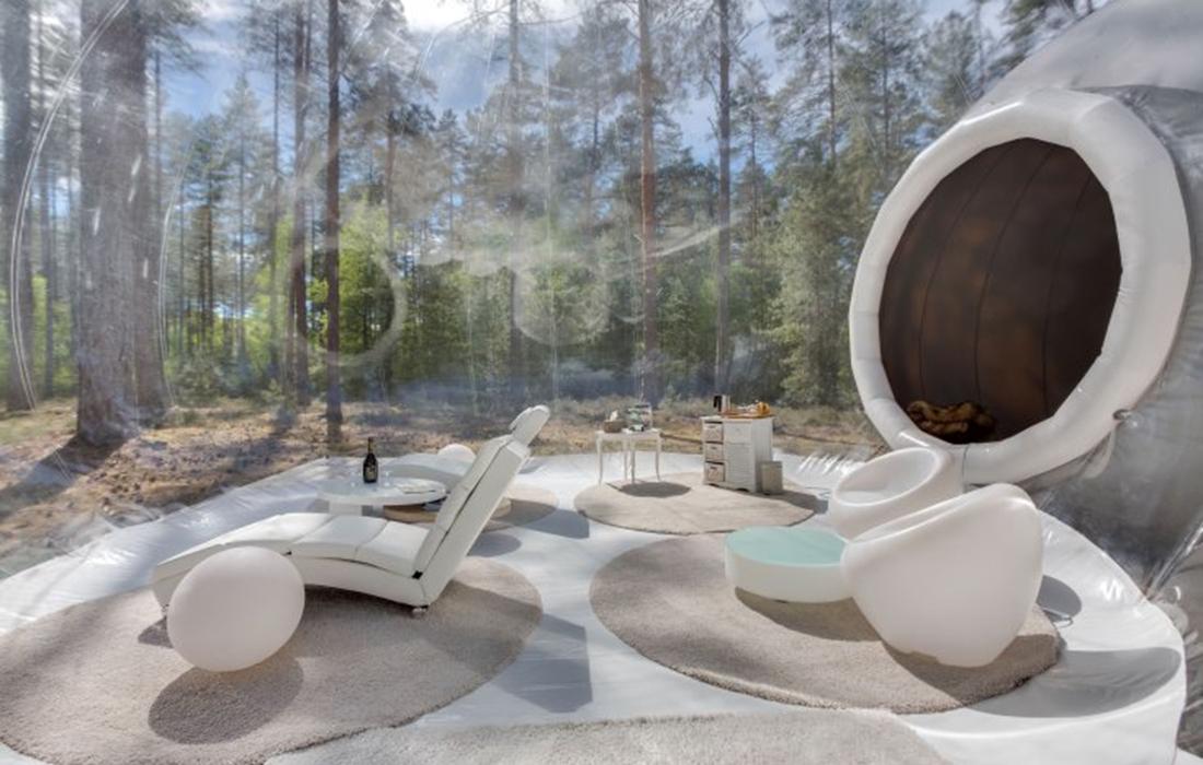Bulles de Sologne: un hébergement insolite,luxueux et confortable au coeur de la nature