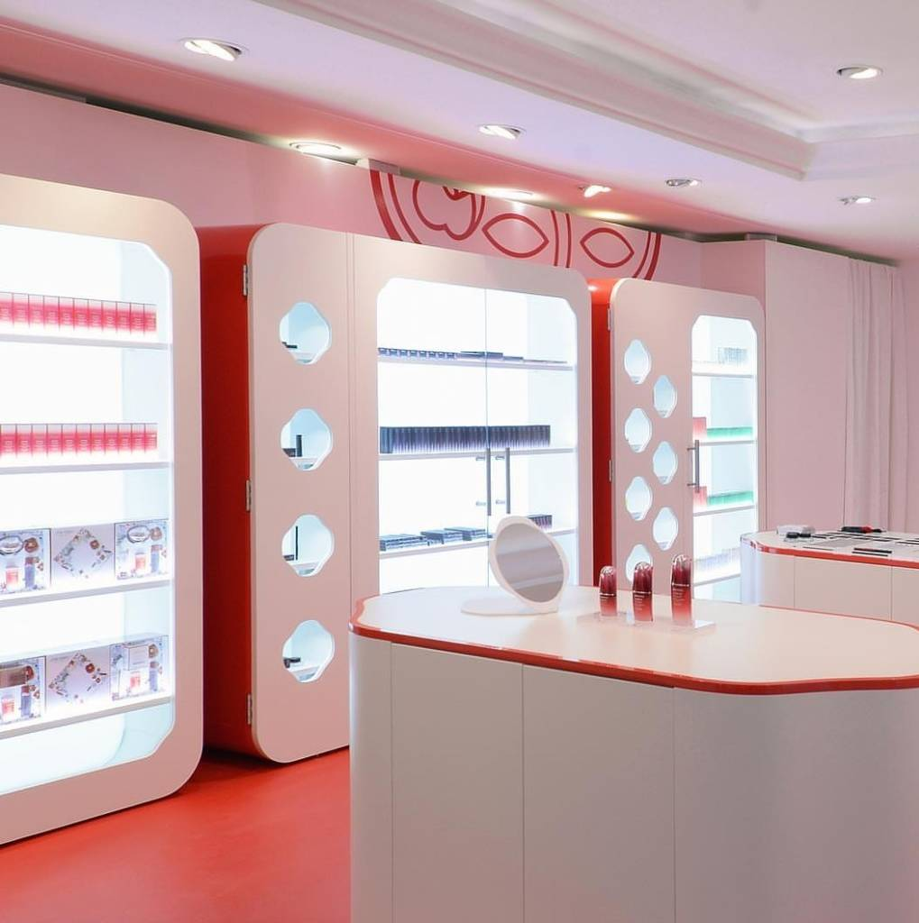 Le pop-up Shiseido dans le Marais, à Paris