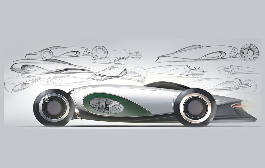 La voiture de demain selon l'imagination de Bentley