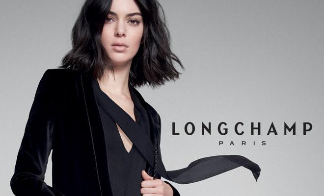 La maison de prestige Longchamp a annoncé, en avril 2018, sa collaboration avec le top model le mieux payé de l'année sur son compte Instagram.