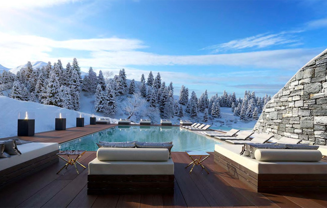 Ultima Collection lance son second complexe hôtelier à Crans-Montana