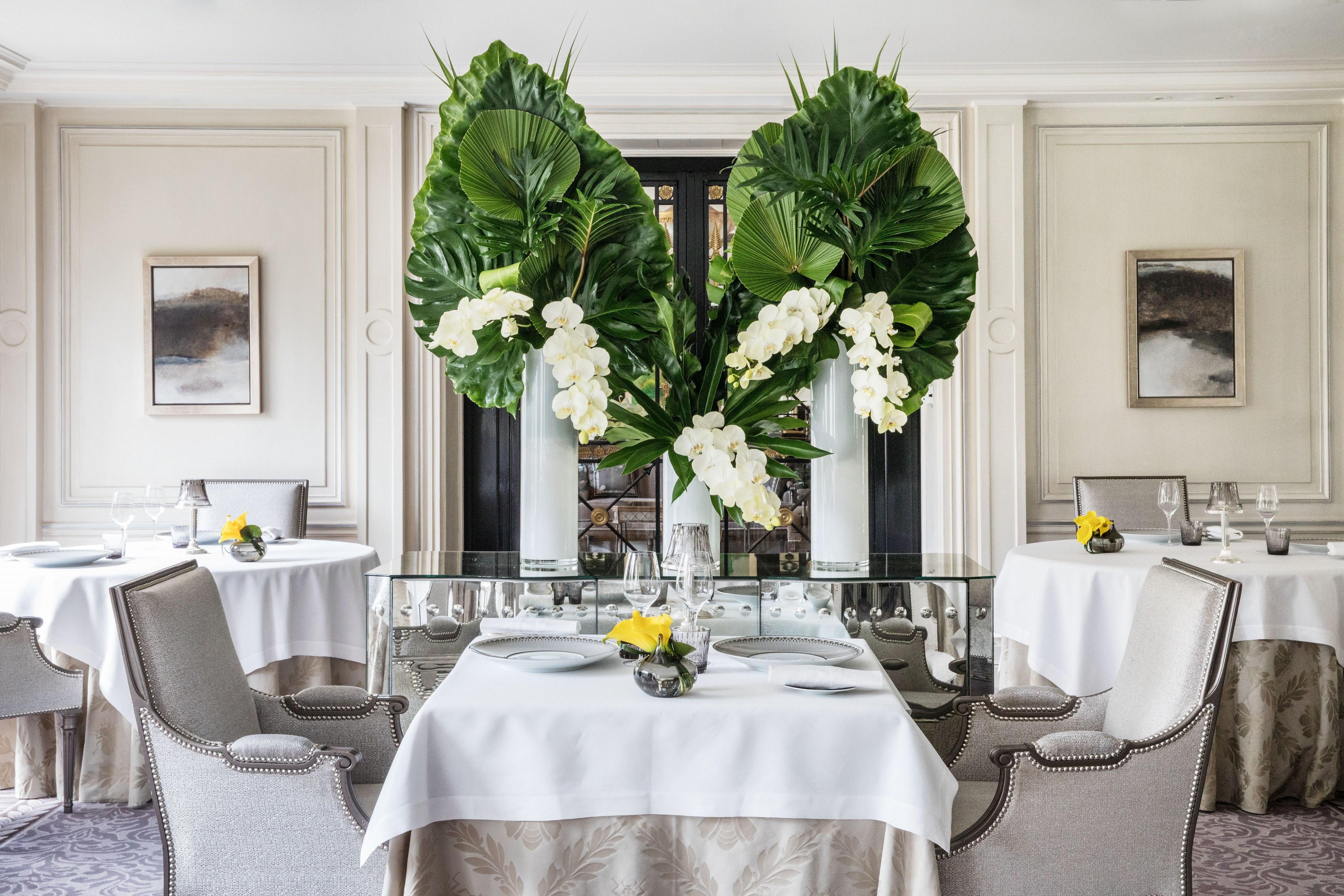 Restaurant L'Abeille au Shangri-La Hotel Paris ©Roberta Valerio-MD