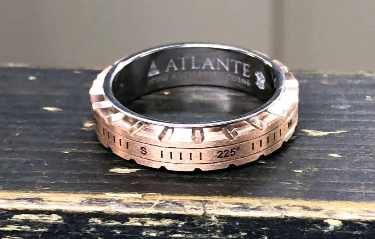 Atlante, une bague talisman signée My-Ring-Factory.com