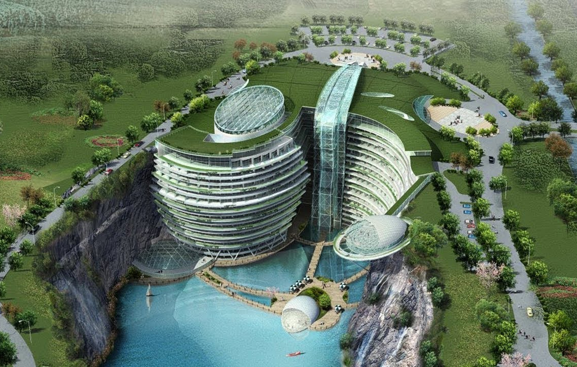 L'Intercontinental Shanghai Wonderland : Le prestigieux complexe hôtelier