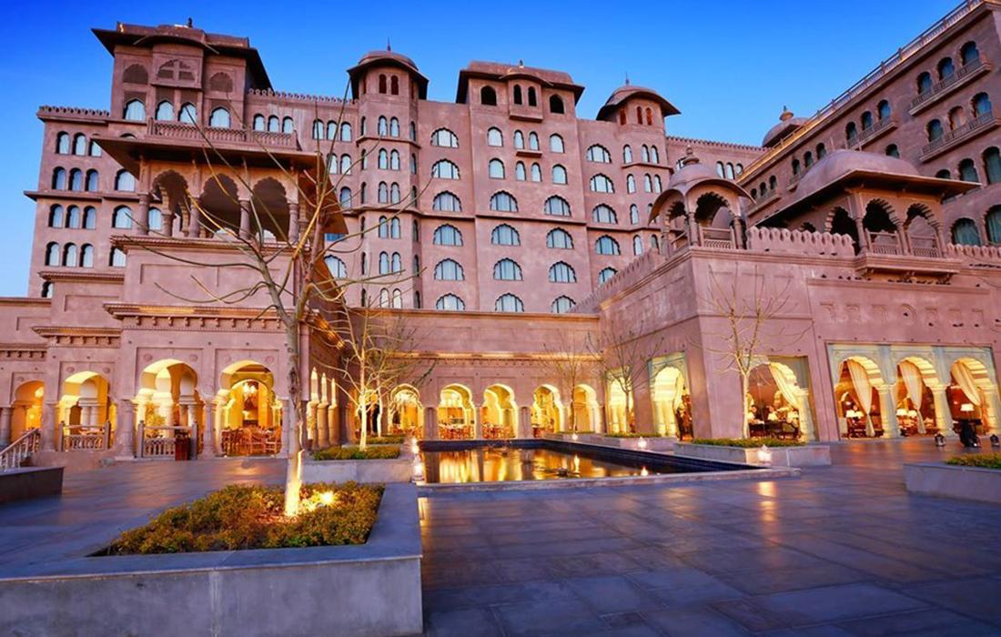 Le Fairmont Jaipur Hotelen Inde: une destination de rêve mettant le savoir-faire architectural du pays à l'honneur