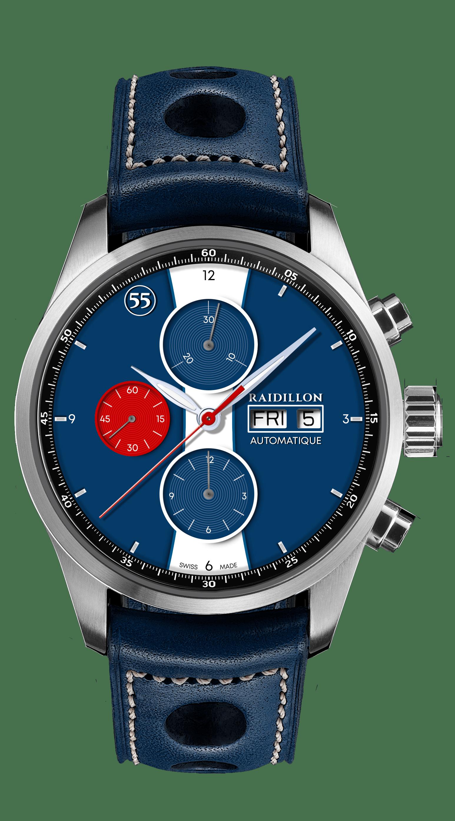 Nouveau tour de piste pour Raidillon avec la montre Jean-Pierre Beltoise