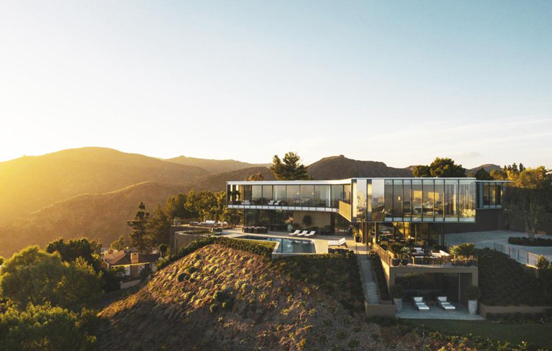 Zoltan Pali: une villa d'exception en Californie, prenant la forme d'une hélice
