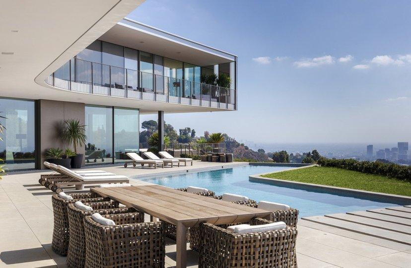 Zoltan Pali : une villa d'exception en Californie, prenant la forme d'une hélice