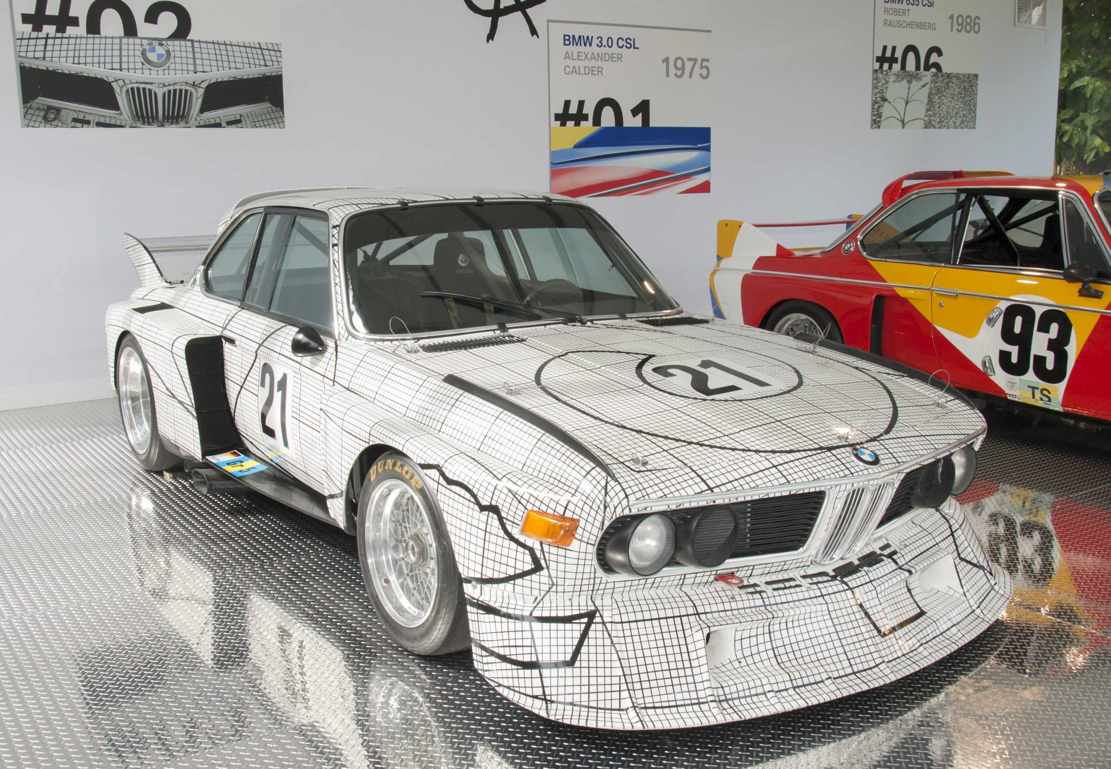 BMW art car de Frank Stella