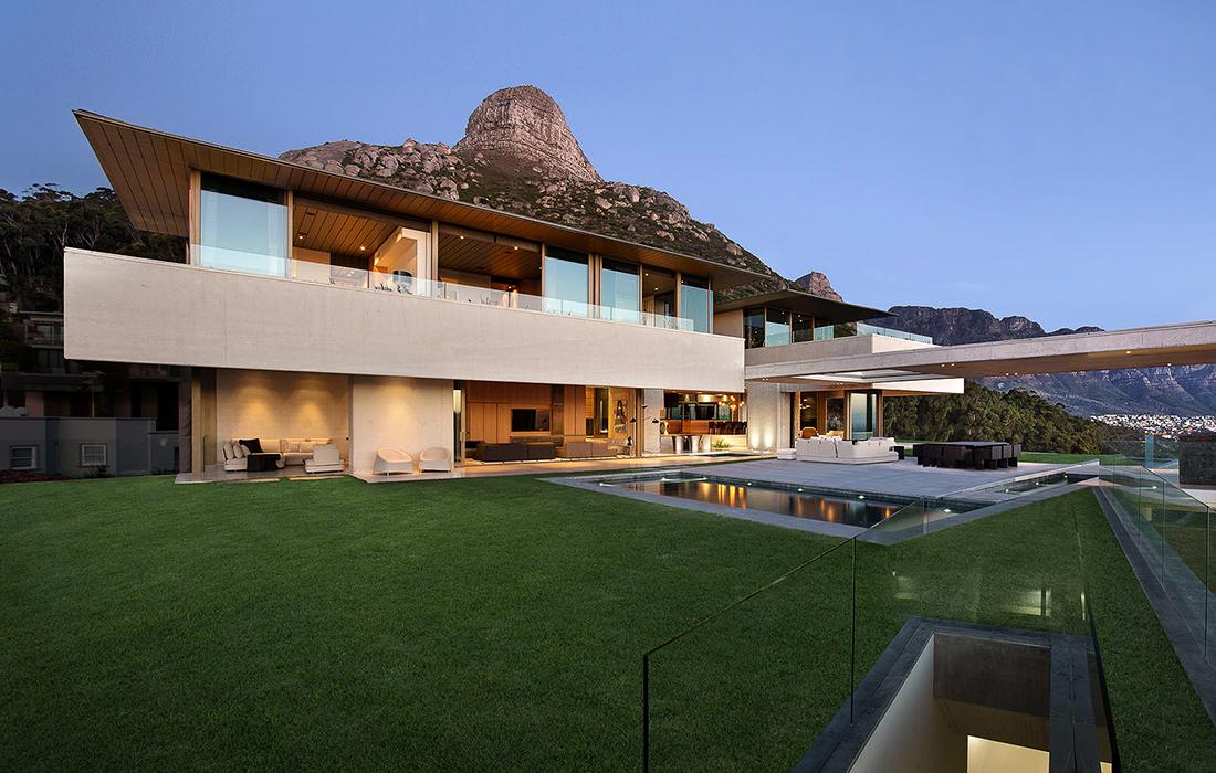 SAOTA: une villa dans le Sud-africain au design exceptionnel et inédit