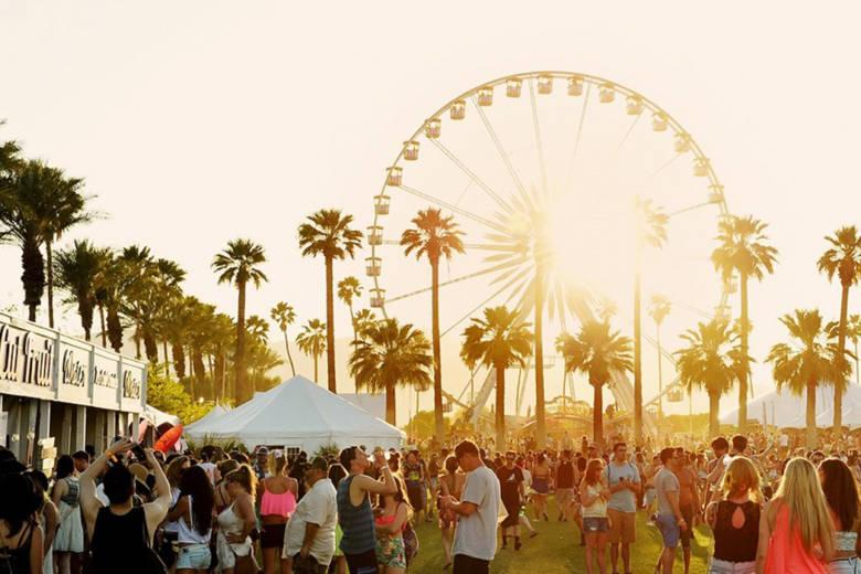 Un pop-up store beauté d'Yves Saint Laurent à l'occasion du prochain festival de musique à Coachella
